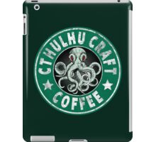 Cthulhu Craft Coffee iPad Case/Skin