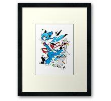 Touhou - Cirno Framed Print