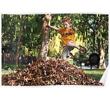 Leaf Boy ll Poster