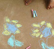 Chalk art by Leafy by Rachel  Devenish Ford