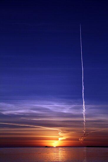 Sunrise. by Steve Chapple