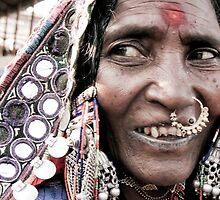 Banjara Gypsy Woman in Goa by Rachel  Devenish Ford