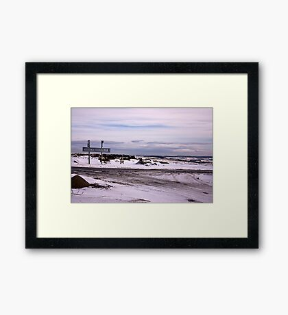 Halfway There Framed Print