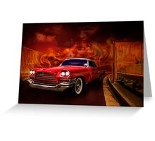 Christine - 1960 Chrysler 300 Greeting Card