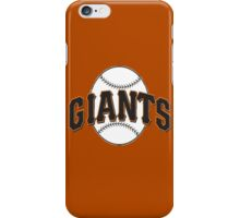 Giants iPhone Case/Skin