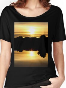 Down Upside Down Women's Relaxed Fit T-Shirt