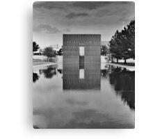 OKC Memorial 9:01 Canvas Print