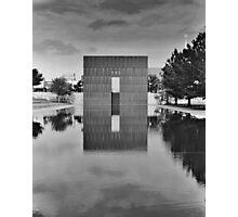 OKC Memorial 9:01 Photographic Print