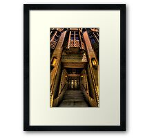 Art Deco Heaven - British Medical Building (c 1930) , Sydney - The HDR Experience Framed Print