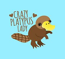Crazy Platypus lady by jazzydevil