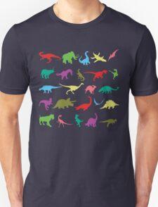 Colorful Mini Dinosaur  Unisex T-Shirt