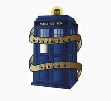 TARDIS - Gallifrey Stands! Kids Clothes