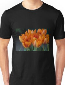tulips in bloom Unisex T-Shirt