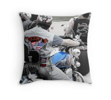Veterans day rally Throw Pillow