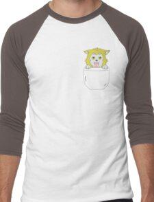 Ryota Kise Puppy Men's Baseball ¾ T-Shirt