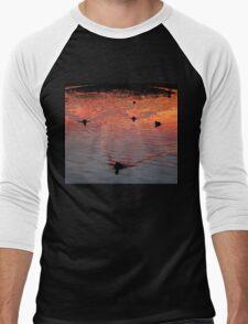 The Early Birds Men's Baseball ¾ T-Shirt
