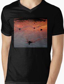 The Early Birds Mens V-Neck T-Shirt