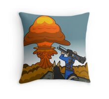 Atomb Bomb Baby Throw Pillow