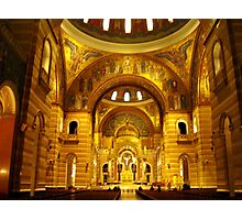 Inside the Cathedral Basilica of St. Louis Photographic Print