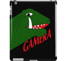Gamera - Black iPad Case/Skin