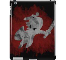 The Minish Brush Red iPad Case/Skin