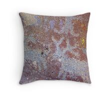 Cast in Time  Throw Pillow