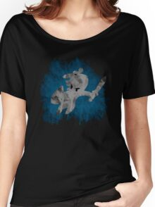 The Minish Brush Blue Women's Relaxed Fit T-Shirt