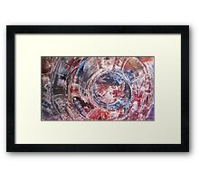 Portal to theory of new awakening Framed Print
