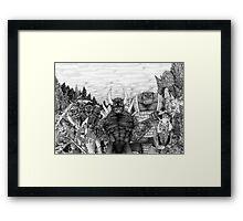 Evil Army Framed Print