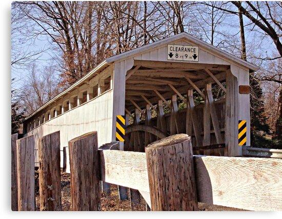 Banks Covered Bridge by Monnie Ryan