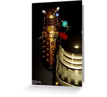 Dalek Double Take Greeting Card