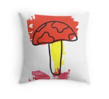 Magic Mushroom 1 Throw Pillow