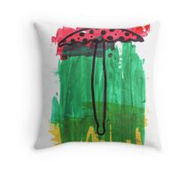 Magic Mushroom 2 Throw Pillow