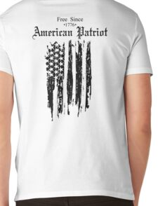 Free Since 1776 – American Patriot Mens V-Neck T-Shirt
