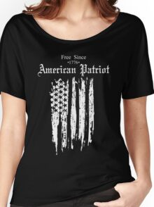 Free Since 1776 – American Patriot Women's Relaxed Fit T-Shirt