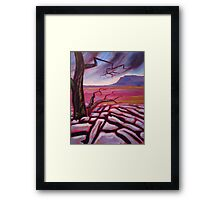 'Ingleborough from Whitescar' Framed Print