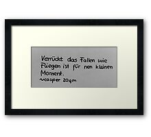 Words of Wise Framed Print