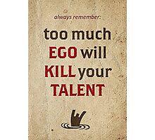 EGO Photographic Print
