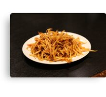 Spicy Bean Sprouts Canvas Print