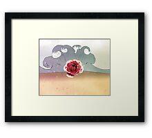 rose beach Framed Print