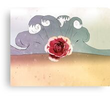 rose beach Canvas Print