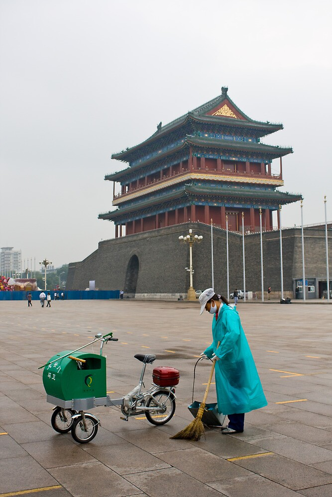 Keeping Tiananmen Square Clean by Karen Millard