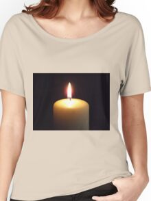 Candle flame..... Women's Relaxed Fit T-Shirt