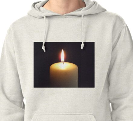 Candle flame..... Pullover Hoodie