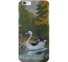 Alone, With his Thoughts iPhone Case/Skin