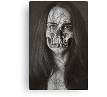 Death Is Natural Canvas Print