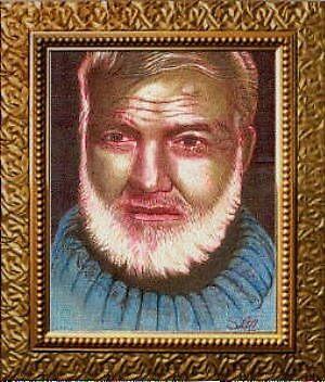 Earnest Hemingway by Jerry  Stith