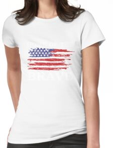 Free Since 1776 – American Patriot Womens Fitted T-Shirt