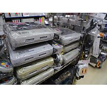 Super Famicoms Photographic Print