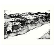 The Slums Art Print